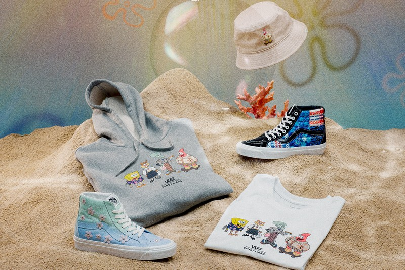 Sandy Liang Travels to Bikini Bottom For New Collaboration with Vans and SpongeBob Squarepants