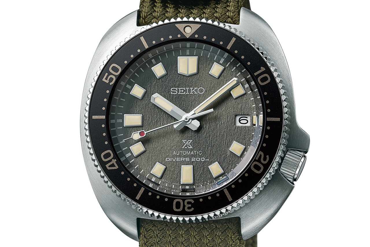 Seiko Reissues Vintage Dive Watches on Traditional Japanese Fabric Straps
