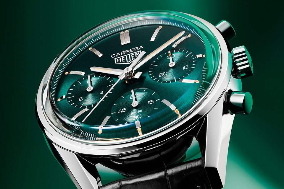 TAG Heuer Carrera Green Special Edition HYPEBEAST