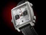 TAG Heuer Monaco Titan Drops In New Sand-Blasted Titanium Case