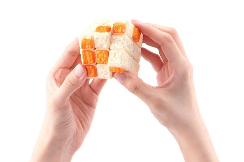 RAMEN, <b>This Rubik&#8217;s Cube comes in the form of instant ramen</b>