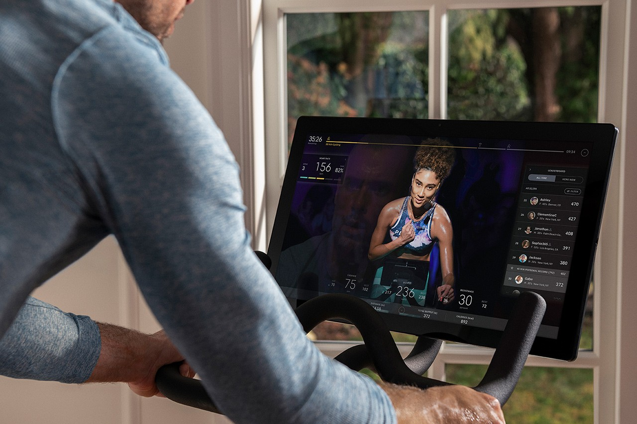 Will Virtual Fitness Have a Post-Pandemic Future? Zwift peloton instagram live hydrow online streaming working out at home info