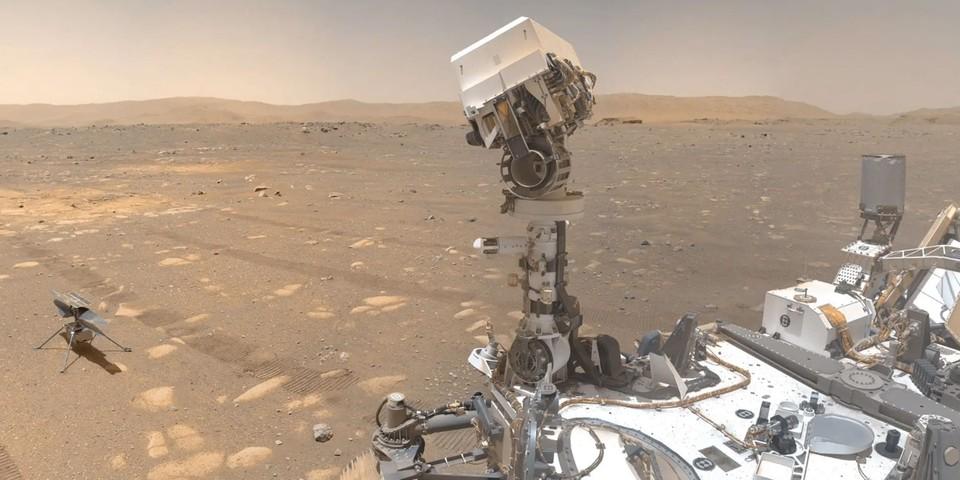 Here's What NASA's Perseverance Rover's First 100 Days on Mars Looked Like