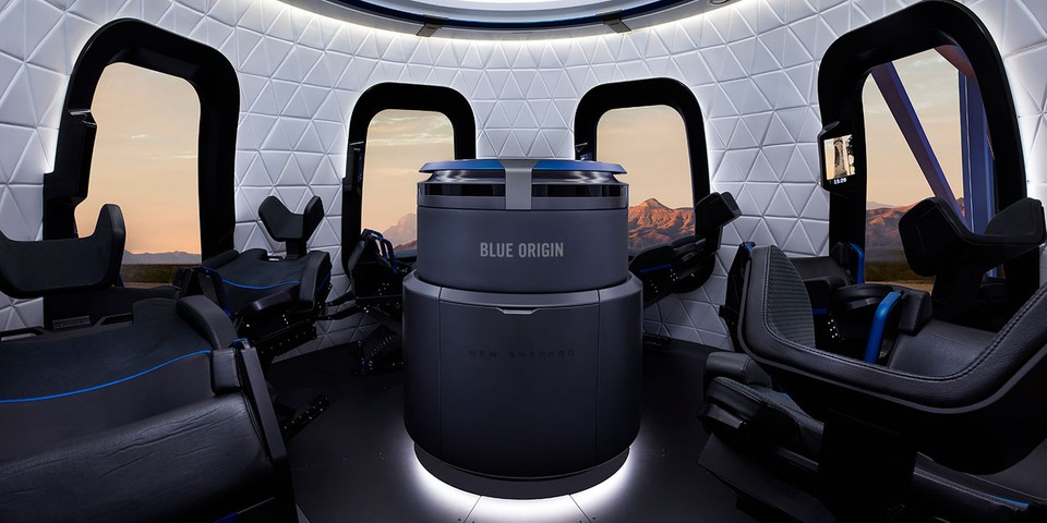 The First Seat on Blue Origin's Upcoming Space Tourism Flight Sold for $28 Million USD