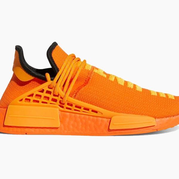 Pharrell x adidas NMD Hu Orange