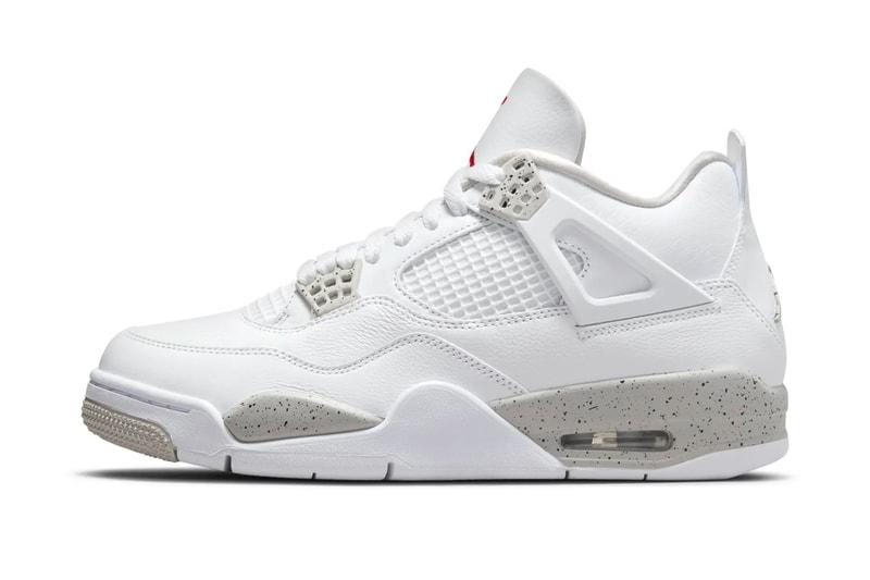 "Take an Official Look at the Air Jordan 4 ""Tech White"""