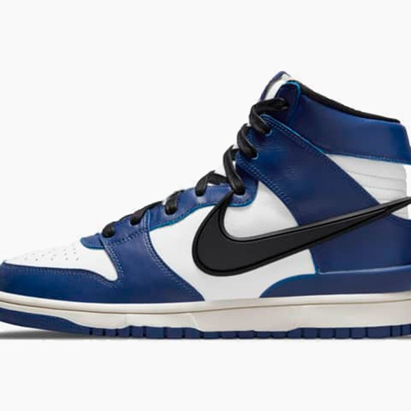 "AMBUSH x Nike Dunk High ""Deep Royal"""