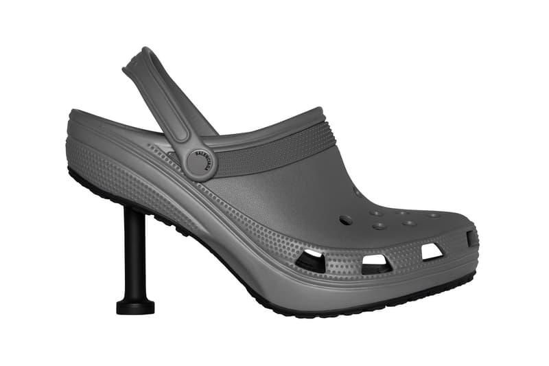 Balenciaga Crocs Stiletto Clogs Spring 2022 Collaboration Full Look Release Info Date Buy Price Clones