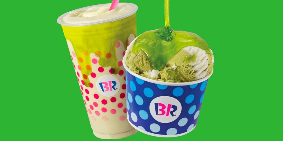 Baskin Robbins Oozes New Slime Ice Cream Topping for the Summer