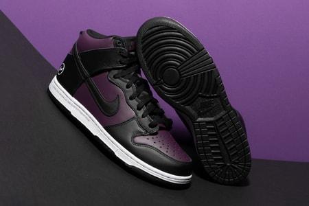 "fragment design x Nike Dunk High ""Beijing"" Makes a Glorious Return in This Week's Best Footwear Drops"