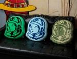 "Billionaire Boys Club's Decorative Pillows Utilize Classic ""Helmet Head"" and ""Standing Astronaut"" Graphics"