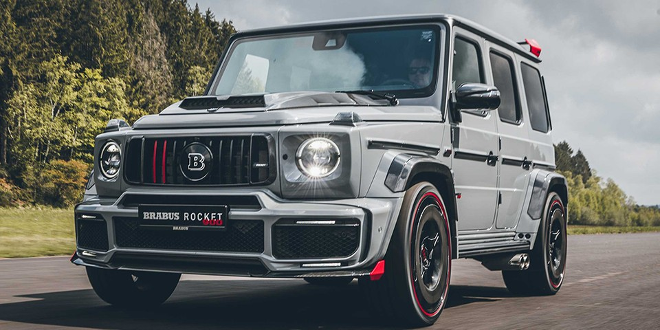 Brabus' 900 Rocket Edition Takes the Mercedes-AMG G63 to the Max