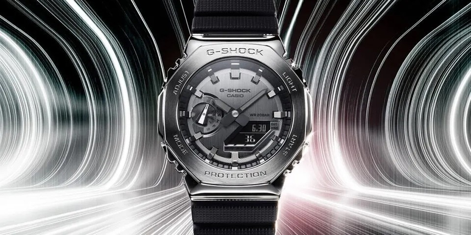 """G-SHOCK Gives Its Popular """"CasiOak"""" a Stainless Steel Makeover"""