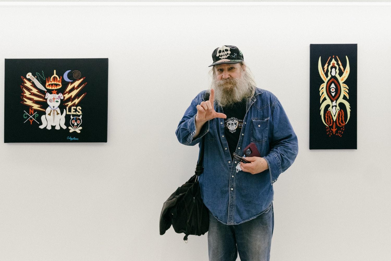 clayton patterson studio visits interview
