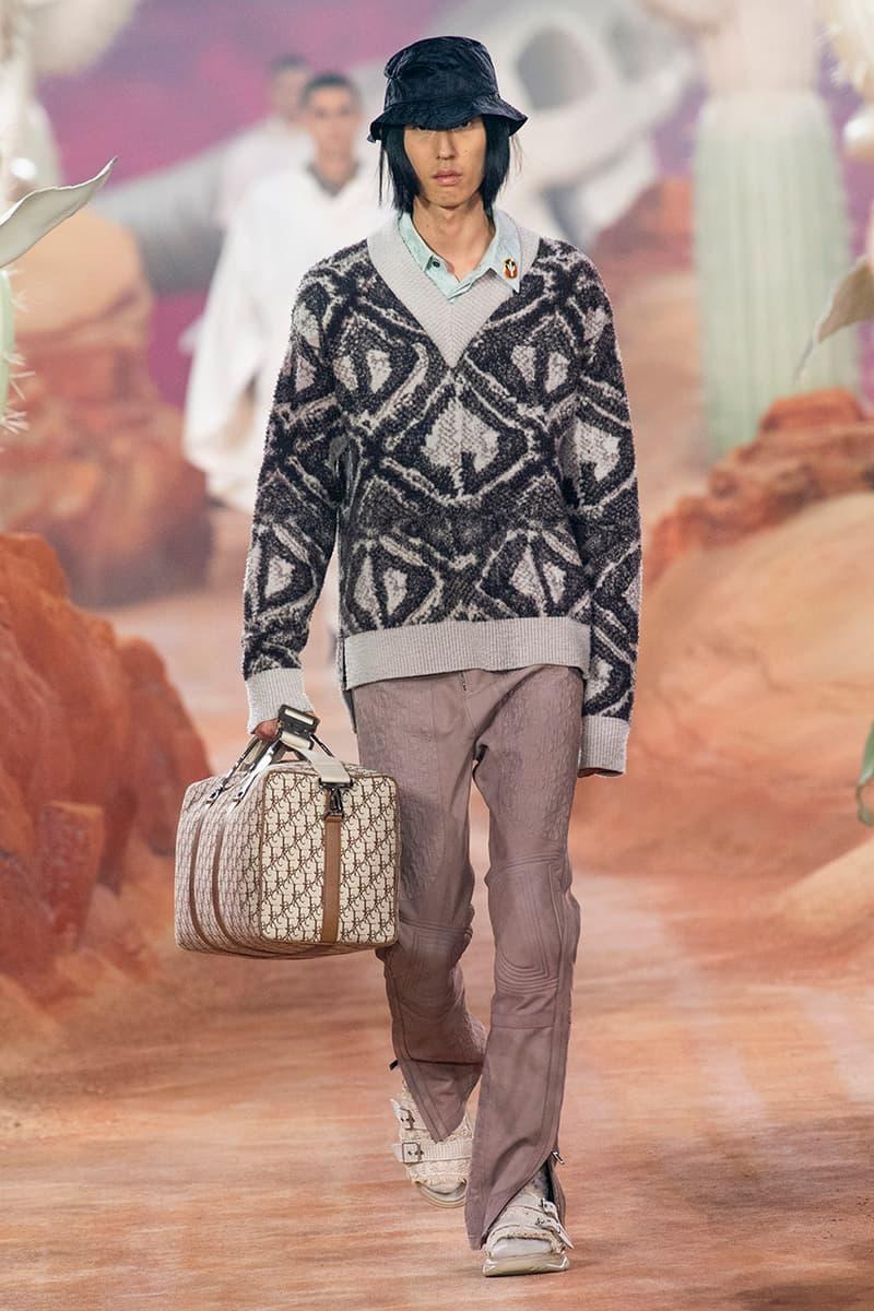 cactus jack travis scott dior masculino verão 2022 kim jones paris fashion week detalhes informações primeiro olhar