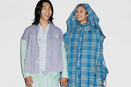 """FACETASM's SS22 """"A Sight With A Kiss"""" Collection Is Filled With Layering"""