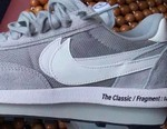 """A """"Grey/White"""" Colorway of the fragment x sacai x Nike LDWaffle Surfaces"""
