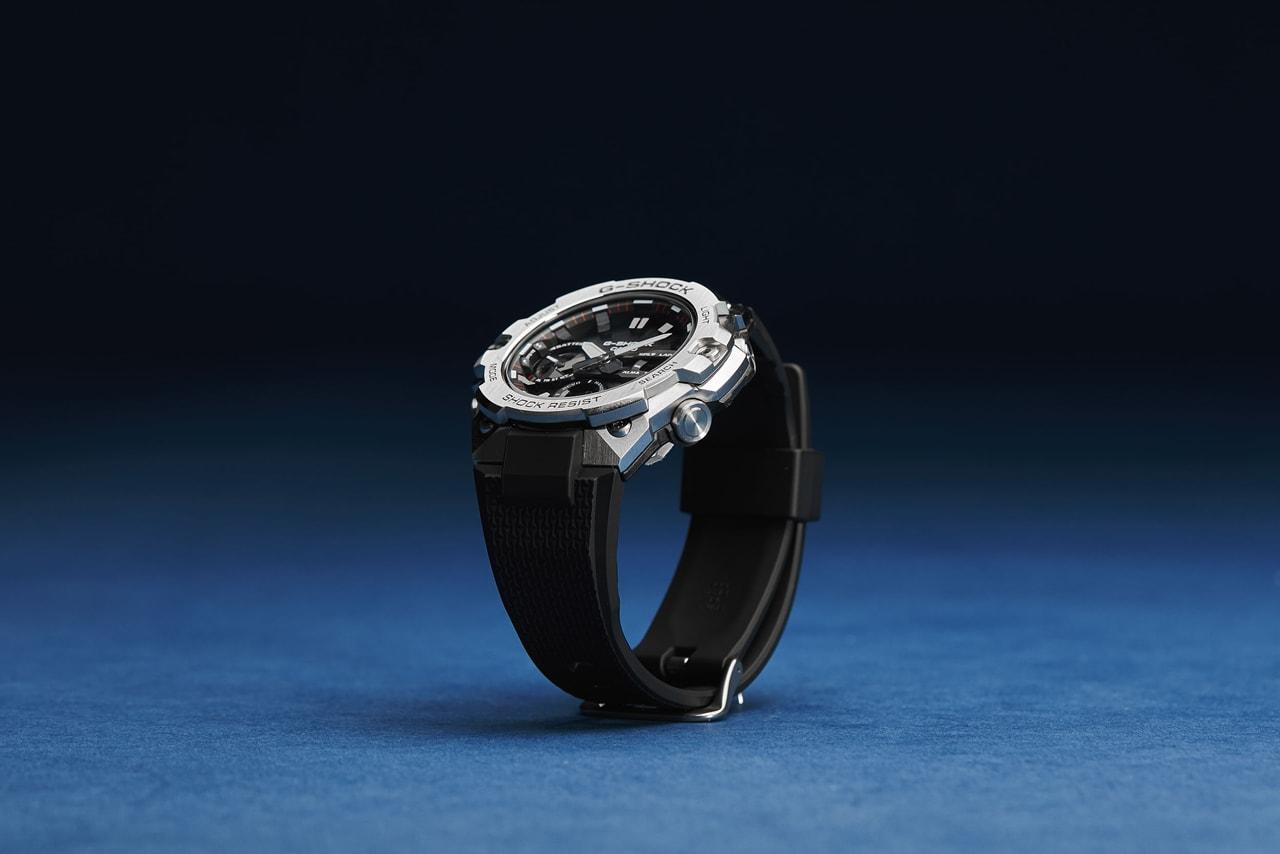 지샥, 메탈 감성의 GST-B400-1A 공개  g-shock newest metallic watch