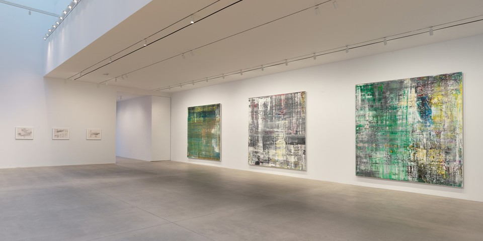 Gerard Richter Honors Artist John Cage in Abstract Paintings