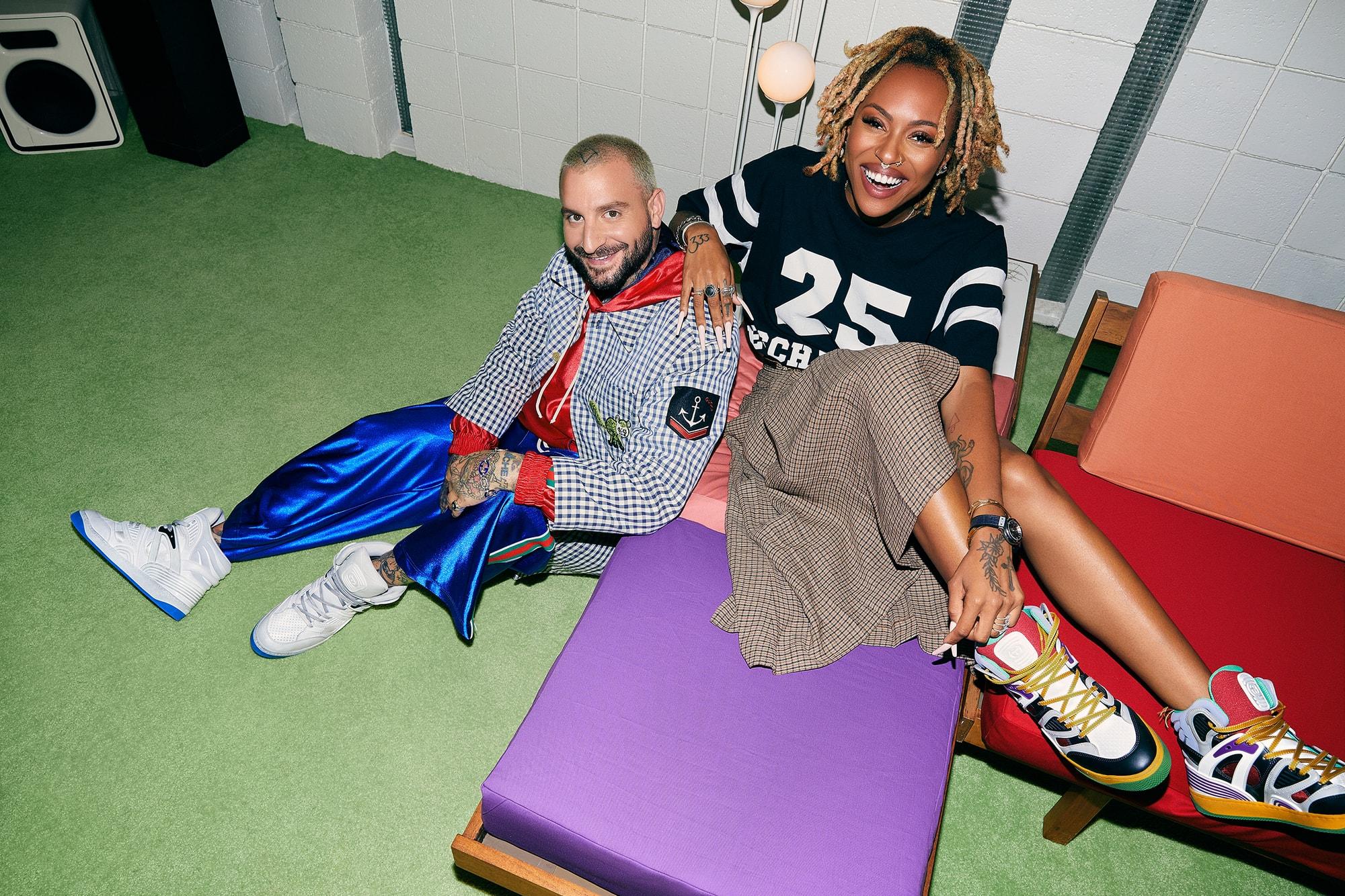 gucci the shoe surgeon Brittany Byrd Zany Eschatalogy Basket Sneaker fashion sneaker luxury footwear streetwear italian