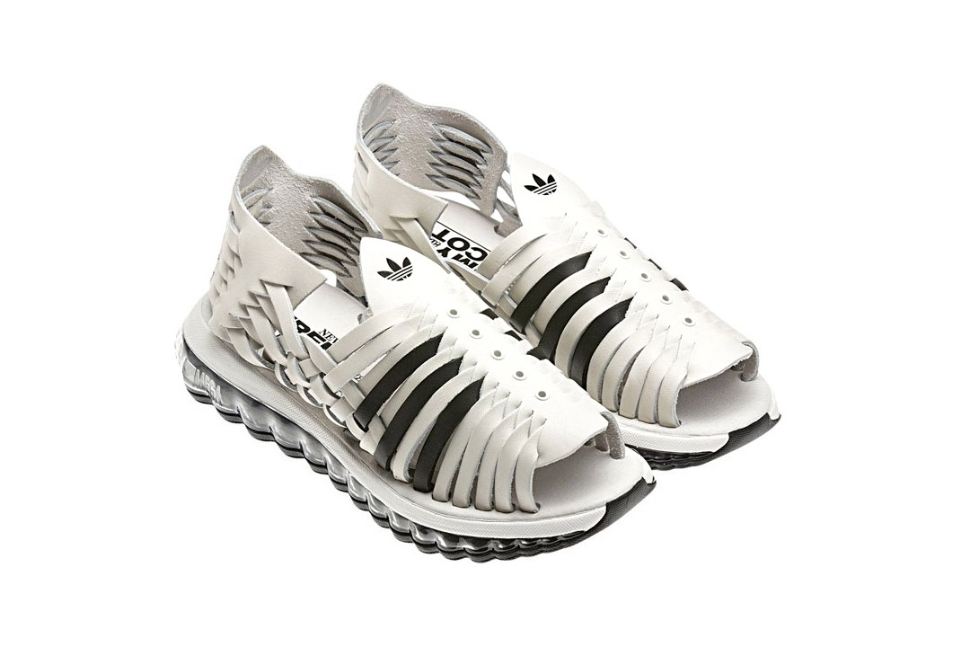 Jeremy Scott adidas Originals Collaborations Best of Archive Three Stripe History JS J Wing Teddy Bear ZX Flux Cowboy Boots Sandals Collab Kanye West