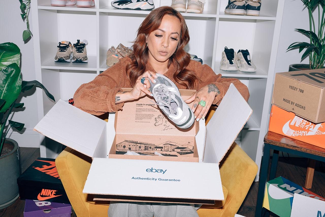 Jess Gavigan juicegee instagram sneakers chaussures collectionneur garantie d'authenticité ebay