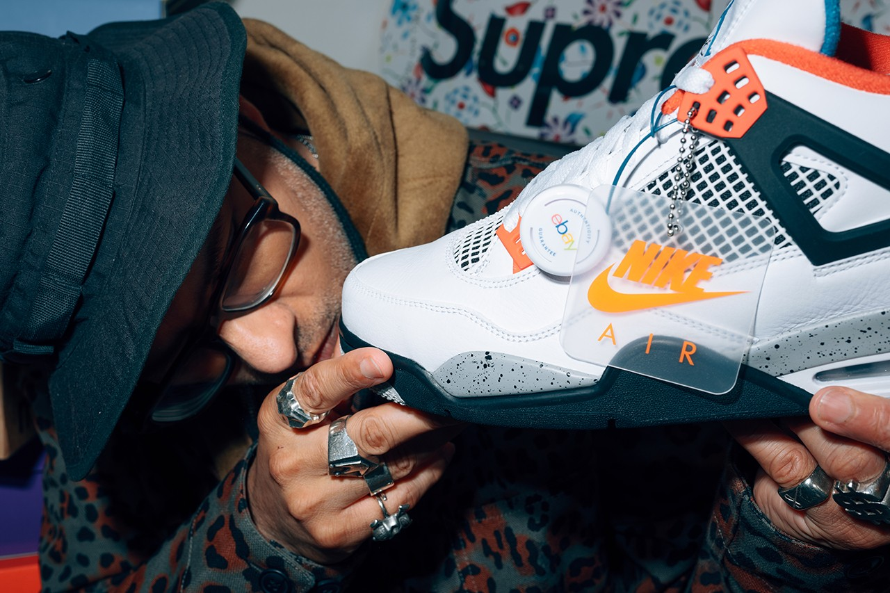 kish kash ebay sneaker footwear authenticity guarantee marketplace secondary peer to peer fashion vintage exclusive bid