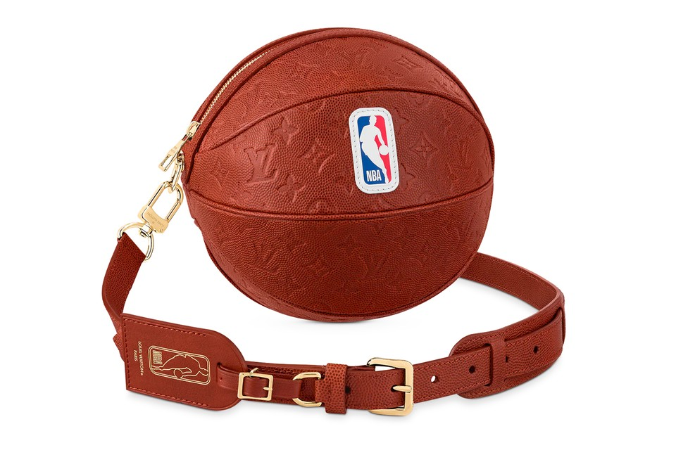 Louis Vuitton NBA Ball In Basket Leather Bag Release | HYPEBEAST