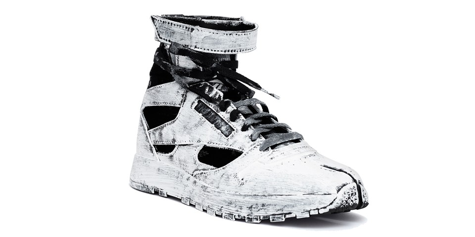 The Maison Margiela x Reebok Classic Leather Tabi High is Inspired by Gladiator Sandals