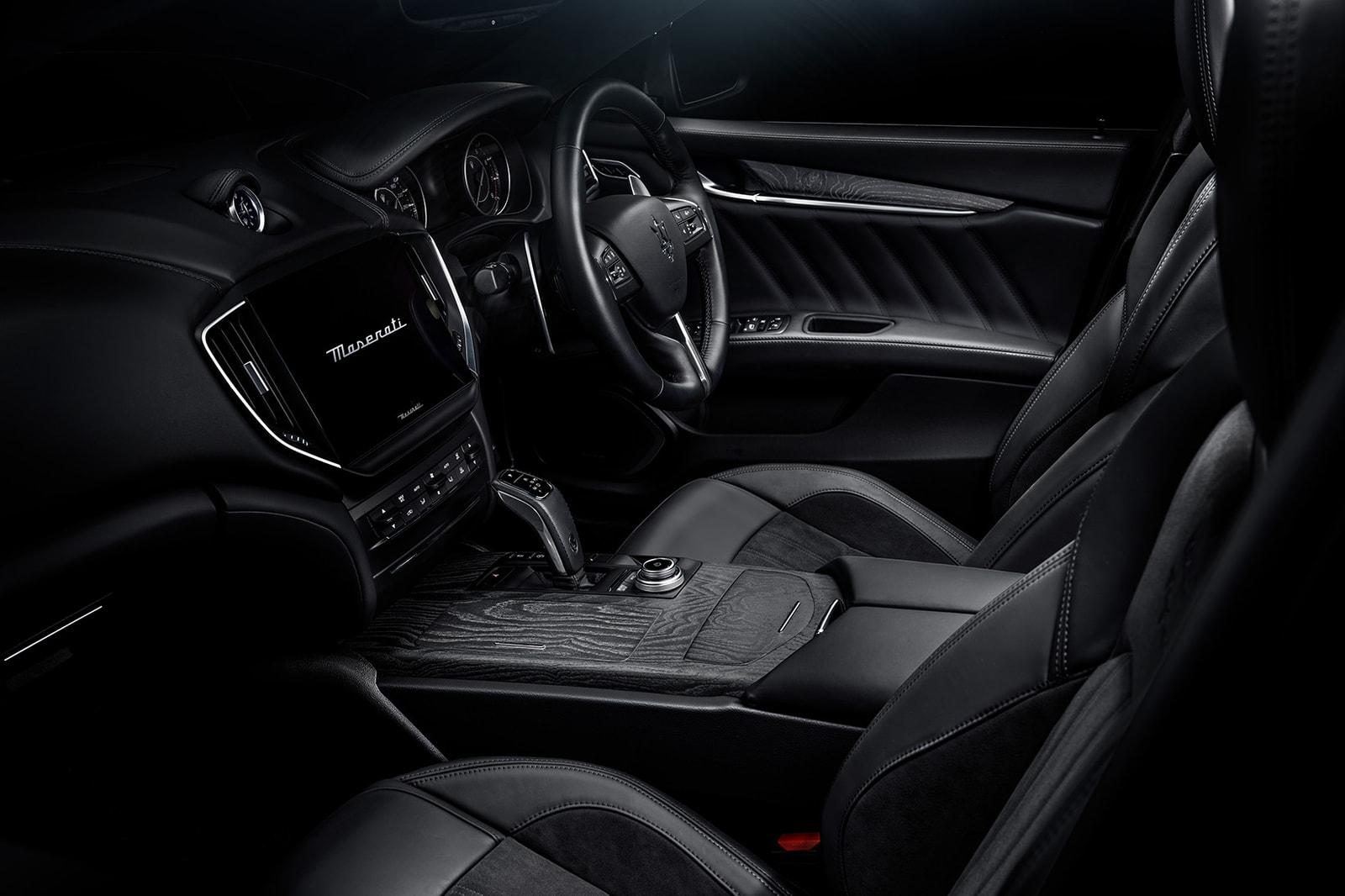 Maserati fragment design Limited Edition Car Hiroshi Fujiwara Ghibli Operanera Ghibli Operabianca,