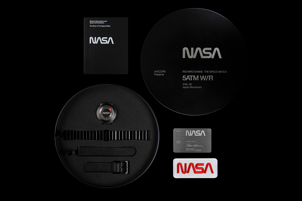 Designer of the NASA Worm Logo Creates First Watch to Celebrate Return of the Iconic Typography