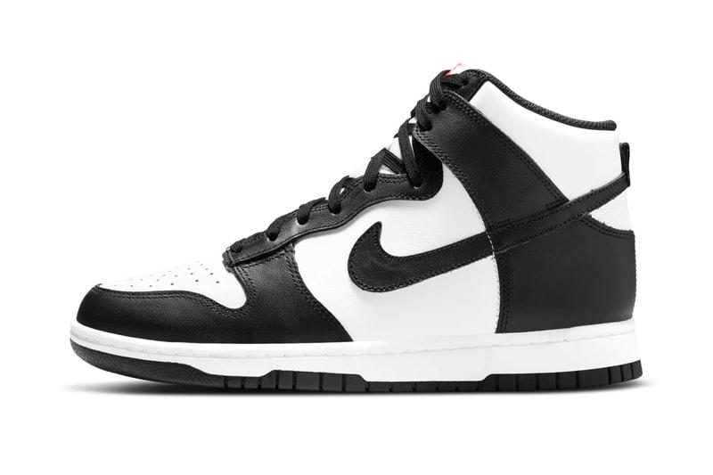 "The Nike Dunk High ""Panda"" Receives a Release Date"