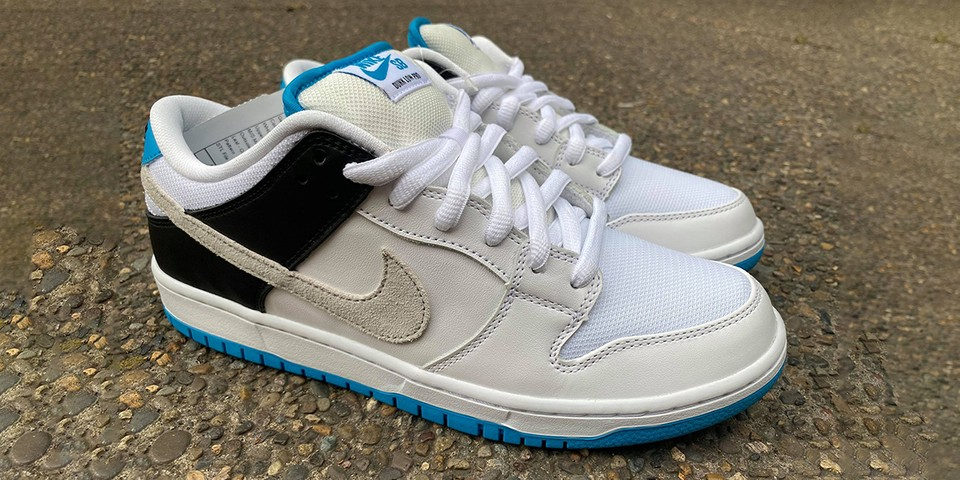 """Early Look at the Nike SB Dunk Low """"Neutral Grey/Laser Blue"""""""