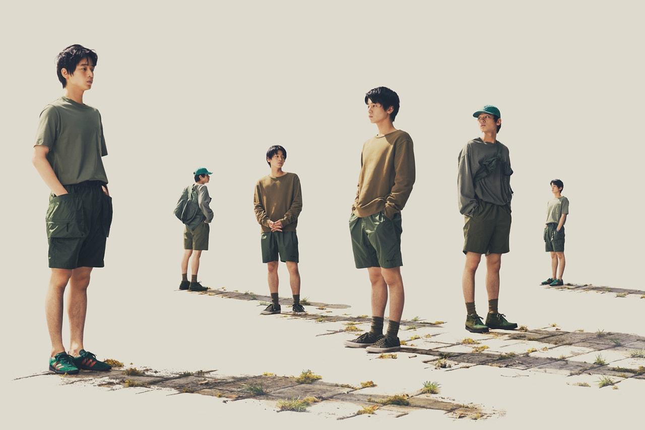 goldwin japan outdoor skiwear functional pants t shirts tshirt fashion durable versatile