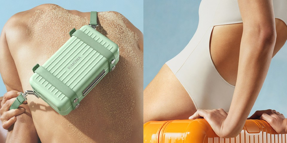 """RIMOWA Introduces """"Mango"""" and """"Bamboo"""" Colorways for New Essential Collection"""