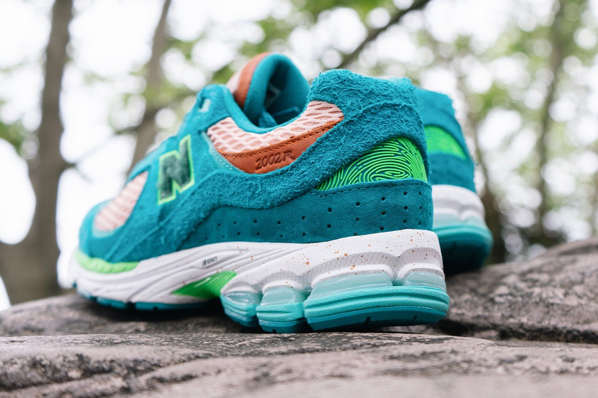salehe bembury spunge new balance 2002r water be the guide havasu falls joe grondin ML2002RV1 team teal rose water footwear designer of the year versace yeezy interview conversation exclusive official release raffle date info photos price store list buying guide