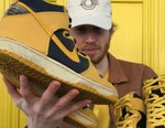 """Sole Mates: SneakerDenn and the Nike Dunk """"Goldenrod"""""""