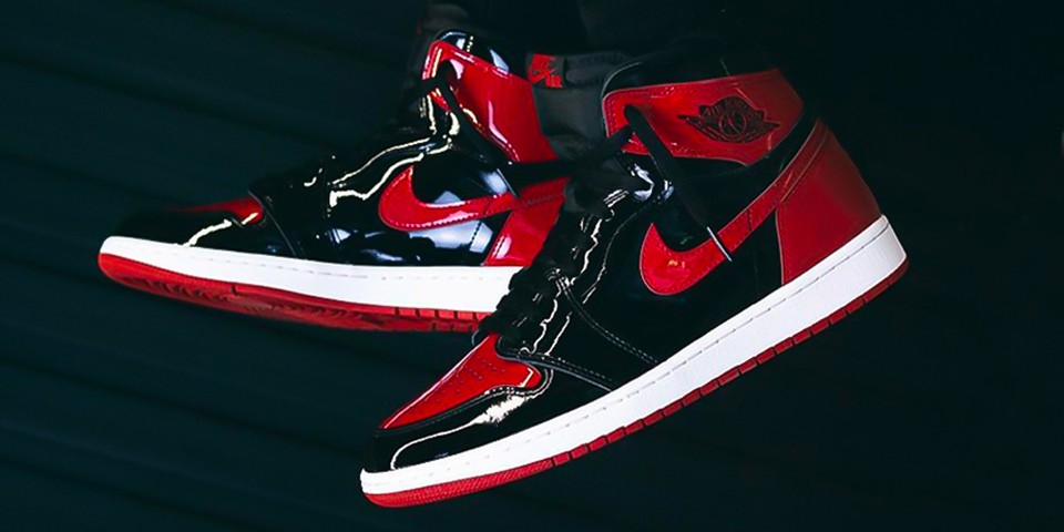 take another on foot look at the air jordan 1 high og patent bred tw jpg?w=960&cbr=1&q=90&fit=max.