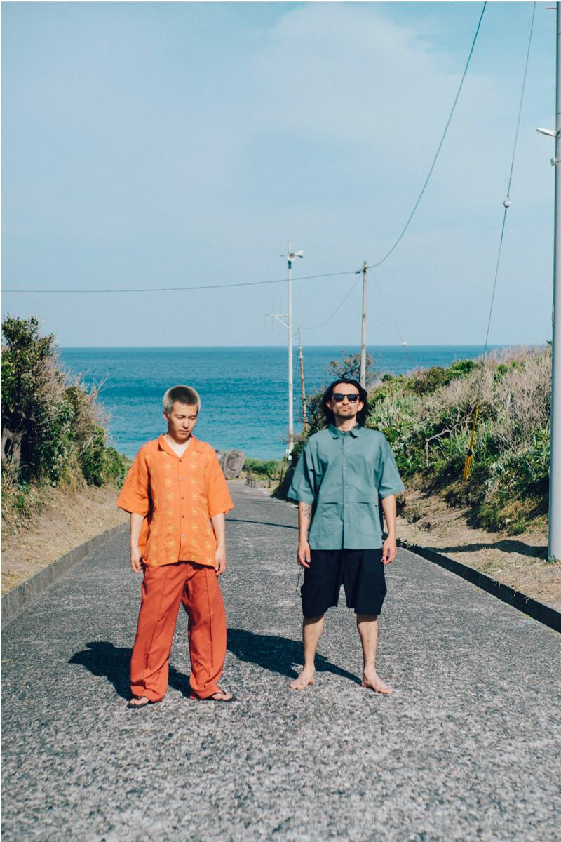 Evisen Skateboards Summer 2021 Lookbooks camisa de cuello abierto pantalones de corte recto tetsuya nagato kei tanakadrink bolsas de transporte