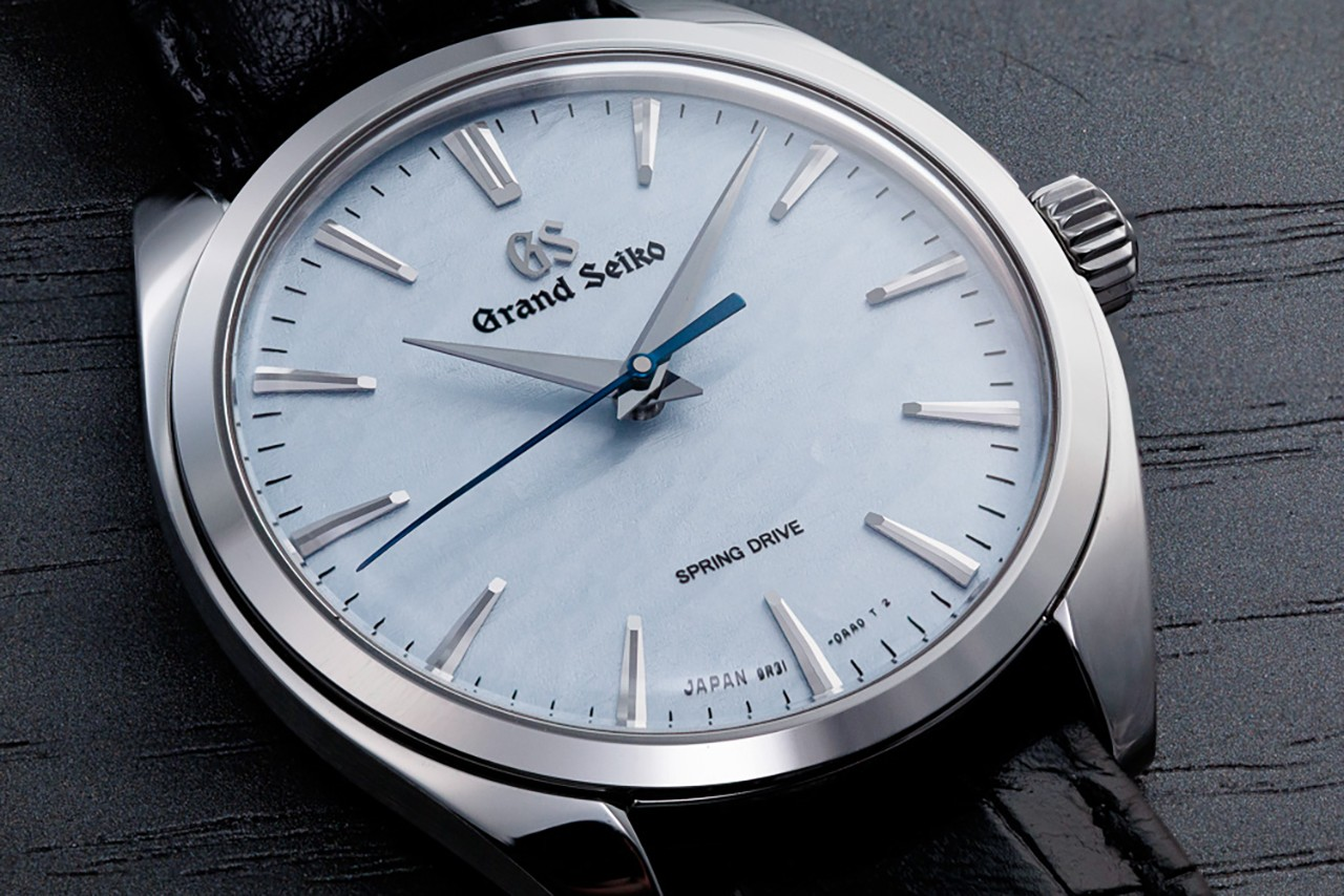Stamped Dial Texture Reflects The Ice Ridges Found on Lake Suwa