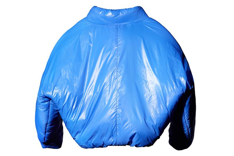 YEEZY Gap First Release Round Jacket Announcement Kanye West Projections Locations Info Date Buy Price Blue