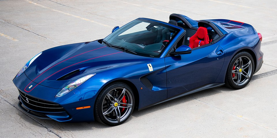 This 1-of-10 Ferrari F60 America Could Fetch $4.5M USD at Auction