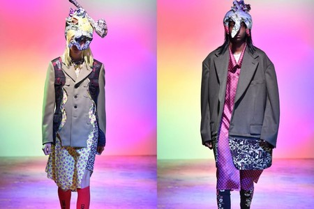 Comme Des Garçons Homme Plus SS22 Collection Showcases Florals in Full Bloom