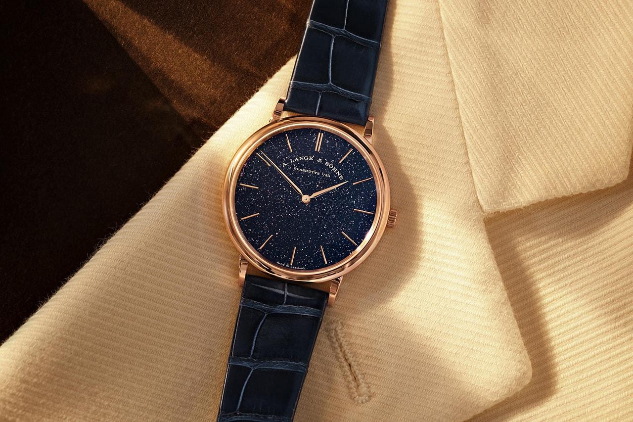 A. Lange & Söhne Drops Four Haute de Gamme Gold Watches Including Langematik Perpetual Limited Editions
