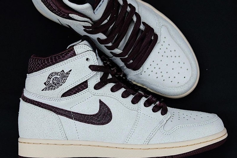 A Ma Maniére Has a Snakeskin-Covered Air Jordan 1 High Collaboration on the Way