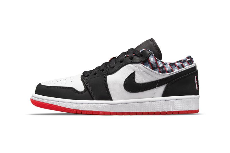 air michael jordan brand 1 low quai 54 white red black dm0095 106 official release date info photos price store list buying guide