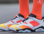 """Jordan Brand Honors Beijing's Streetball Culture With This Air Jordan 6 Low """"Dongdan"""" Colorway"""