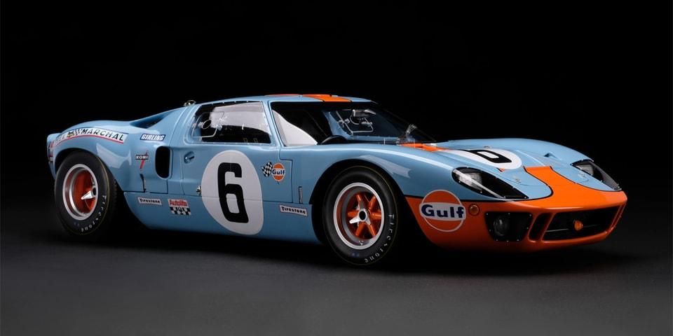 Amalgam's 1:8 Scale 1969 GT40 Will Set You Back $13,000 USD