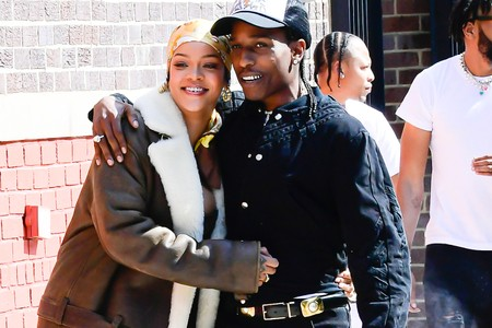 A$AP Rocky and Rihanna Spotted Filming Music Video in the Bronx