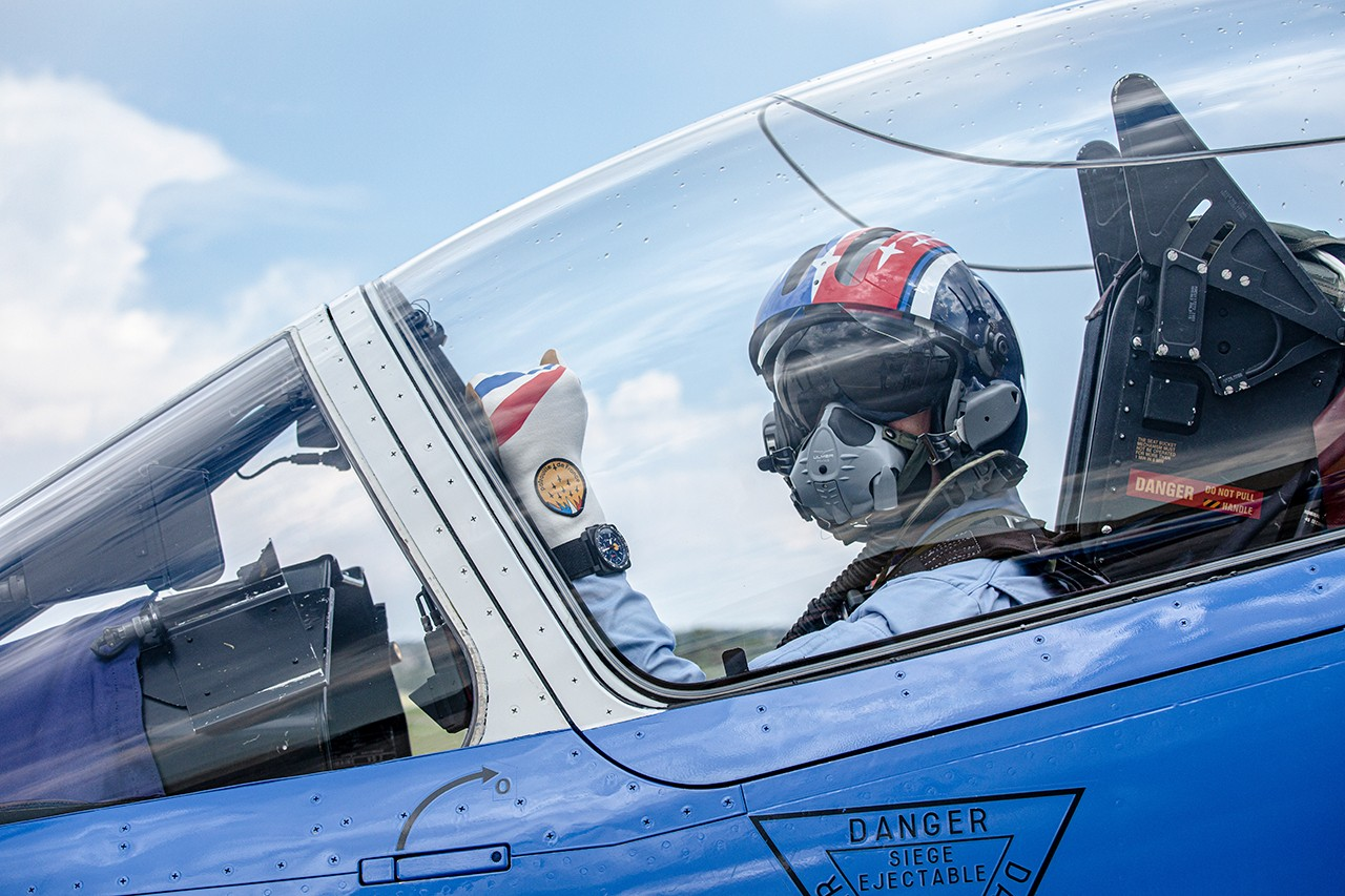 Black Ceramic Chronograph From Bell & Ross Marks Brand's Status as Watch Partner of French Aerobatic Team